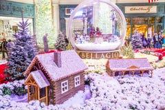 Bellagio-Hotel-Konservatorium u. botanische Gärten Stockbild