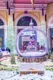 Bellagio-Hotel-Konservatorium u. botanische Gärten Lizenzfreie Stockfotos
