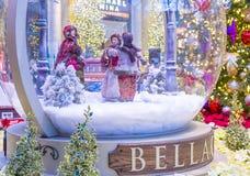 Bellagio-Hotel-Konservatorium u. botanische Gärten Stockfotografie