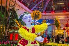 Bellagio-Hotel-Konservatorium u. botanische Gärten Stockfotos