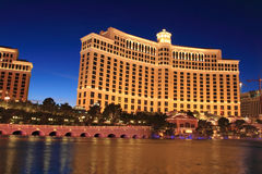 Bellagio Hotel . Las Vegas Stock Image