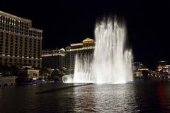 Bellagio Hotel waterworks, Las Vegas Stock Images