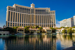 Bellagio hotell under dagen, Las Vegas Royaltyfri Bild