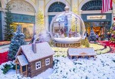 Bellagio hotelldrivhus & botaniska trädgårdar Royaltyfria Bilder