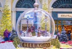 Bellagio hotelldrivhus & botaniska trädgårdar Arkivfoton
