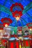 Bellagio hotelldrivhus & botaniska trädgårdar Royaltyfri Foto