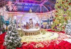 Bellagio Hotelserre & Botanische Tuinen Royalty-vrije Stock Foto's