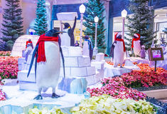 Bellagio Hotelserre & Botanische Tuinen Stock Fotografie