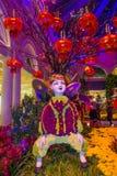 Bellagio Hotelserre & Botanische Tuinen Stock Foto's