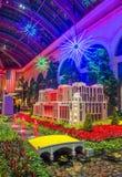 Bellagio Hotelserre & Botanische Tuinen Stock Afbeelding