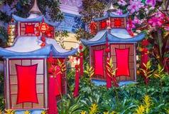 Bellagio Hotelserre & Botanische Tuinen Royalty-vrije Stock Fotografie