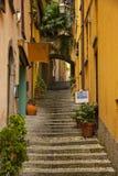 Bellagio Italia Foto de archivo libre de regalías