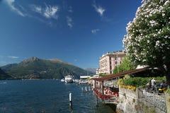 Bellagio Italia, lago Como Fotografia Stock Libera da Diritti