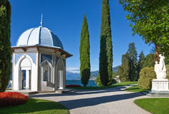 Architectures and landscapes of Como Lake Royalty Free Stock Photography