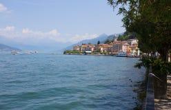 View of Bellagio, a small village on Como lake, Italy royalty free stock photos
