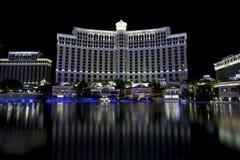 Bellagio kasino i Las Vegas Nevada Arkivfoton
