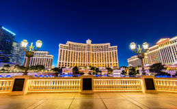 Bellagio kasyno Obrazy Royalty Free