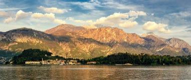 Bellagio Lago di Como (Lake Como) panorama Royalty Free Stock Images