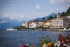 Bellagio on Lake Como Stock Photo