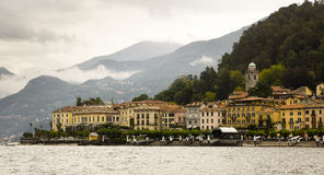 Bellagio from Lake Como, Italy Stock Images