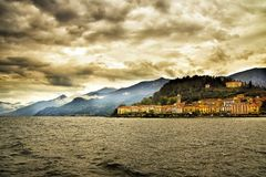 Bellagio from Lake Como, Italy Stock Photos