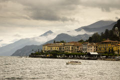 Bellagio from Lake Como, Italy Stock Photography
