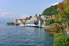 Bellagio on the lake Como in Italy Royalty Free Stock Image