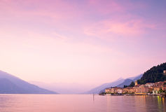 Bellagio on Lake Como in Italy Royalty Free Stock Images