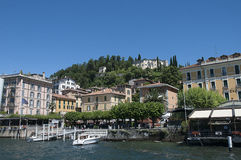 Bellagio on Lake Como in Northern Italy Stock Image