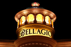 Bellagio of Las Vegas stock photography