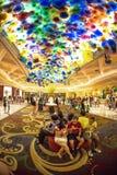 Bellagio lobby Royalty Free Stock Image
