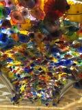 Bellagio lobby Celiing Royaltyfria Bilder