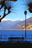 Bellagio, Meer Como stock afbeeldingen
