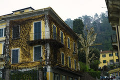 Bellagio, Meer Como, Italië Stock Foto's