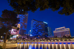 Bellagio mosta hotel Las Vegas Obrazy Stock