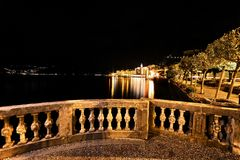Bellagio by night Royalty Free Stock Images