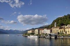 Bellagio no lago Como imagem de stock