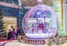 Bellagio ogródy botaniczni & Obraz Stock