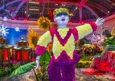 Bellagio ogródy botaniczni & Zdjęcie Royalty Free