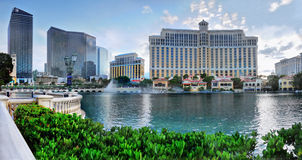 Bellagio Resort, Lake Fountains, Las Vegas Royalty Free Stock Image