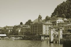 Bellagio, See Como, Italien Stockbilder