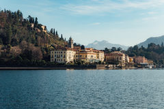 Bellagio-Stadt in Italien Stockfotografie