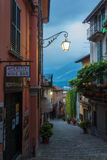 Bellagio street view Stock Photo