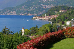 Bellagio sul lago Como, Italia Fotografia Stock