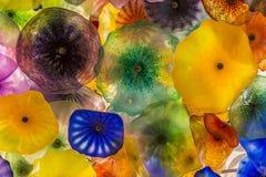 Bellagio szkła kwiaty Zdjęcie Stock