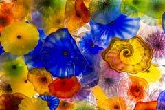 Bellagio szkła kwiaty Zdjęcie Royalty Free