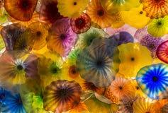 Bellagio szkła kwiaty Obraz Stock