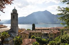 Bellagio Town At The Italian Lake Como Stock Images