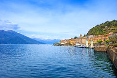 Bellagio town, Como Lake district landscape. Italy, Europe. Royalty Free Stock Photo