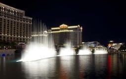 Bellagio waterworks, Las Vegas Stock Photos